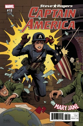 CAPTAIN AMERICA STEVE ROGERS #18 RIVERA MARY JANE VARIANT COVER