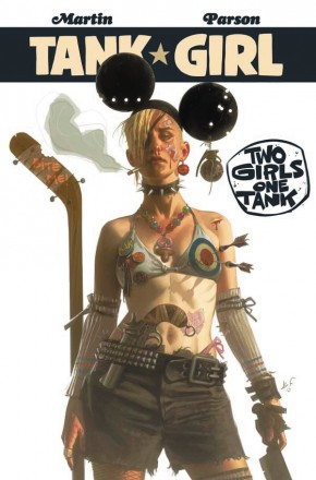 TANK GIRL TWO GIRLS ONE TANK GRAPHIC NOVEL