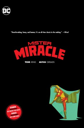 MISTER MIRACLE HARDCOVER