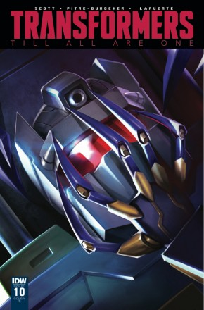 TRANSFORMERS TILL ALL ARE ONE #10 1 IN 10 INCENTIVE VARIANT COVER
