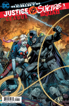 JUSTICE LEAGUE SUICIDE SQUAD #1 (2ND PRINTING)