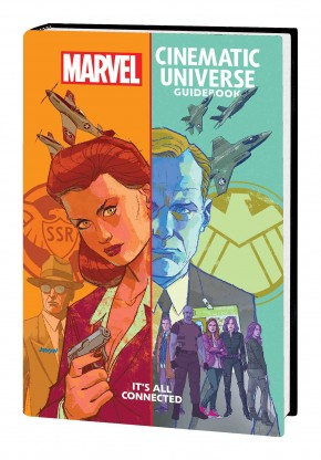 MARVEL CINEMATIC UNIVERSE GUIDEBOOK ALL CONNECTED HARDCOVER