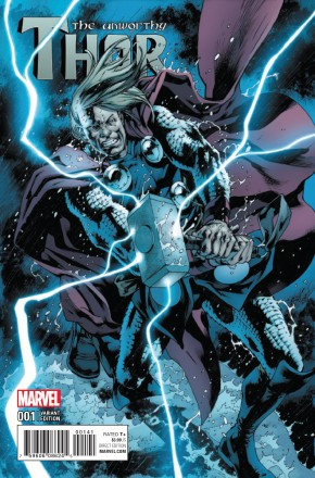 UNWORTHY THOR #1 HITCH 1 IN 15 INCENTIVE VARIANT COVER