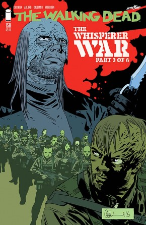 WALKING DEAD #159 COVER A by ADLARD & STEWART