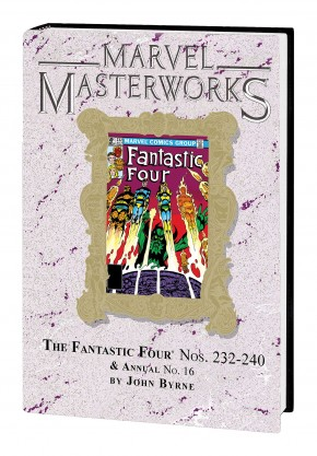 MARVEL MASTERWORKS FANTASTIC FOUR VOLUME 21 DM VARIANT #284 EDITION HARDCOVER