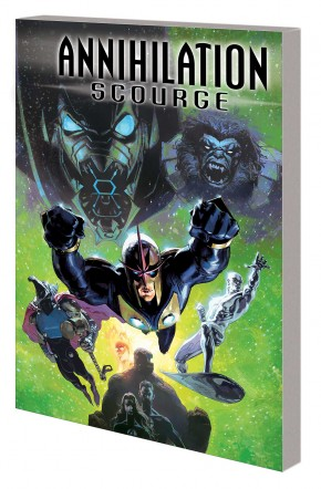 ANNIHILATION SCOURGE GRAPHIC NOVEL