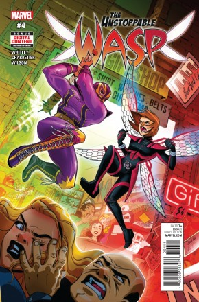 UNSTOPPABLE WASP #4 (2017 SERIES)