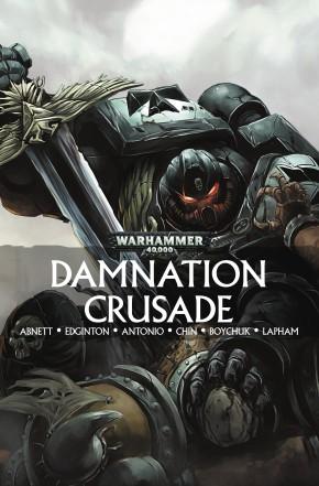WARHAMMER 40K DAMNATION CRUSADE GRAPHIC NOVEL