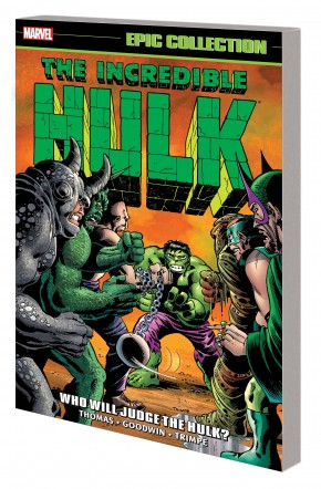 INCREDIBLE HULK EPIC COLLECTION WHO WILL JUDGE THE HULK GRAPHIC NOVEL