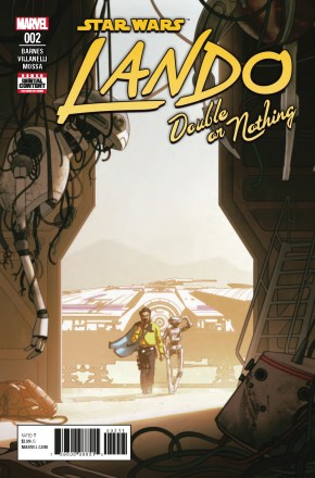 STAR WARS LANDO DOUBLE OR NOTHING #2