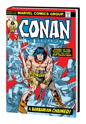 CONAN THE BARBARIAN THE ORIGINAL MARVEL YEARS OMNIBUS VOLUME 3 DM VARIANT HARDCOVER