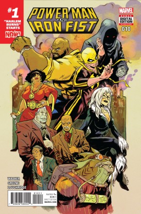 POWER MAN AND IRON FIST VOLUME 3 #10