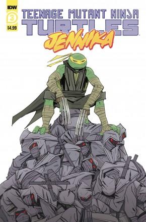 TEENAGE MUTANT NINJA TURTLES JENNIKA #3