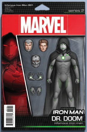 INFAMOUS IRON MAN #1 CHRISTOPHER ACTION FIGURE VARIANT COVER