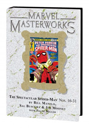 MARVEL MASTERWORKS SPECTACULAR SPIDER-MAN VOLUME 2 DM VARIANT #276 EDITION HARDCOVER