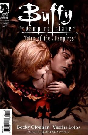 BUFFY THE VAMPIRE SLAYER TALES OF THE VAMPIRES JO CHEN COVER
