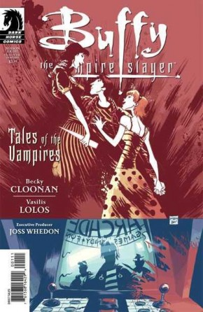 BUFFY THE VAMPIRE SLAYER TALES OF THE VAMPIRES BA AND MOON COVER