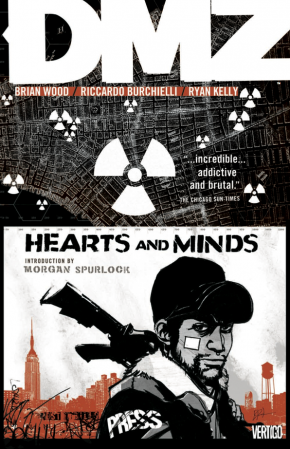 DMZ VOLUME 8 HEARTS AND MINDS GRAPHIC NOVEL