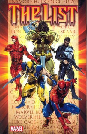 DARK REIGN THE LIST GRAPHIC NOVEL