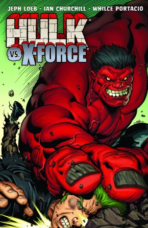 HULK VOLUME 4 HULK VS X-FORCE GRAPHIC NOVEL