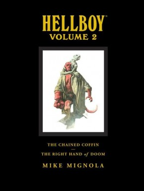 HELLBOY LIBRARY EDITION VOLUME 2 CHAINED COFFIN AND THE RIGHT HAND OF DOOM HARDCOVER