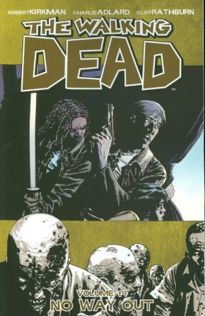 WALKING DEAD VOLUME 14 NO WAY OUT GRAPHIC NOVEL