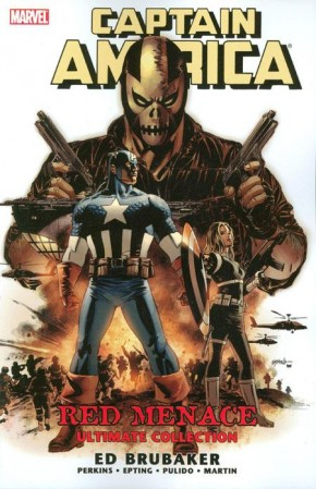 CAPTAIN AMERICA RED MENACE ULTIMATE COLLECTION GRAPHIC NOVEL