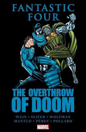 FANTASTIC FOUR THE OVERTHROW OF DOOM HARDCOVER