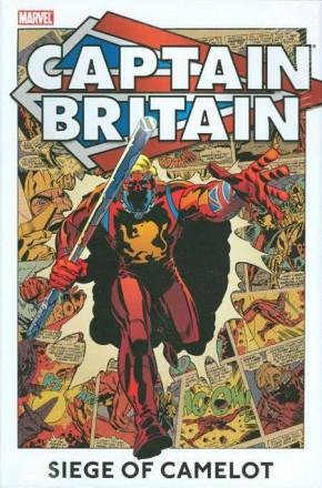 CAPTAIN BRITAIN VOLUME 2 SIEGE OF CAMELOT HARDCOVER