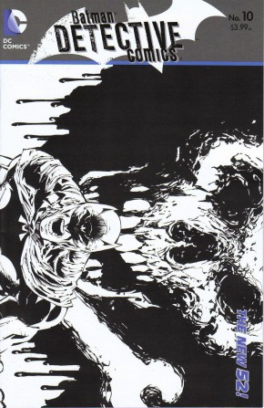 DETECTIVE COMICS #10 (2011 SERIES) 1 IN 25 INCENTIVE