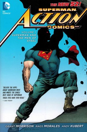 SUPERMAN ACTION COMICS VOLUME 1 SUPERMAN AND THE MEN OF STEEL HARDCOVER