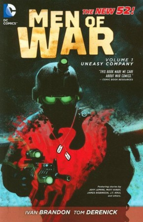 MEN OF WAR VOLUME 1 UNEASY COMPANY GRAPHIC NOVEL