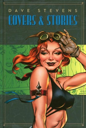 DAVE STEVENS STORIES AND COVERS HARDCOVER