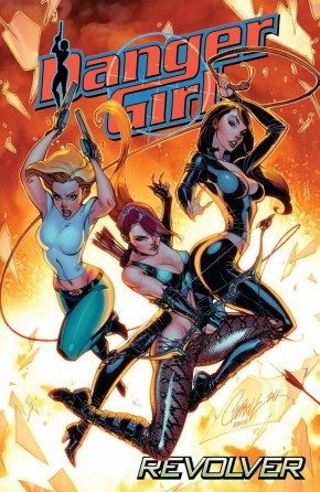 DANGER GIRL REVOLVER GRAPHIC NOVEL