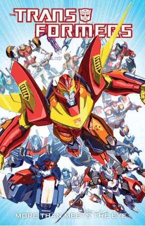 TRANSFORMERS MORE THAN MEETS THE EYE VOLUME 1 GRAPHIC NOVEL