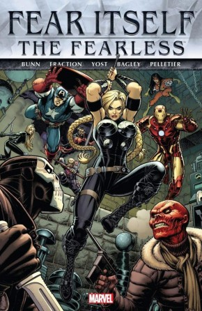 FEAR ITSELF FEARLESS HARDCOVER