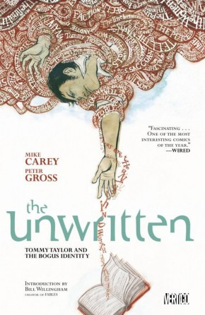 UNWRITTEN VOLUME 1 TOMMY TAYLOR AND THE BOGUS IDENTITY GRAPHIC NOVEL