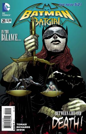 BATMAN AND BATGIRL #21 (2011 SERIES)