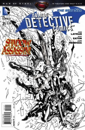 DETECTIVE COMICS #21 (2011 SERIES) 1 IN 25 INCENTIVE