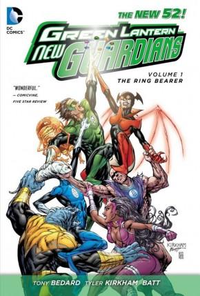 GREEN LANTERN NEW GUARDIANS VOLUME 1 RING BEARER GRAPHIC NOVEL