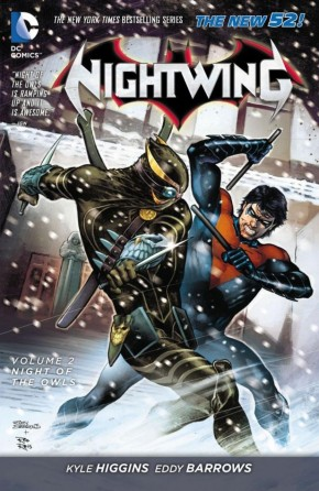 NIGHTWING VOLUME 2 NIGHT OF THE OWLS GRAPHIC NOVEL