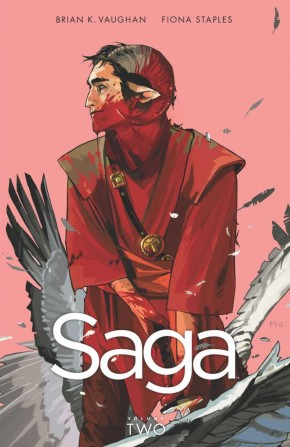 SAGA VOLUME 2 GRAPHIC NOVEL