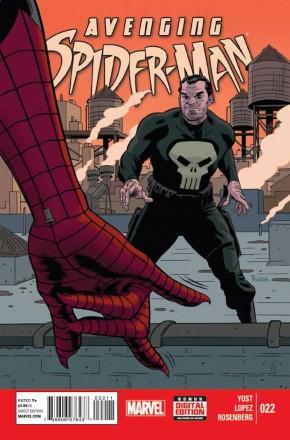 AVENGING SPIDER-MAN #22 (2011 SERIES)