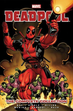 DEADPOOL BY DANIEL WAY COMPLETE COLLECTION VOLUME 1 GRAPHIC NOVEL