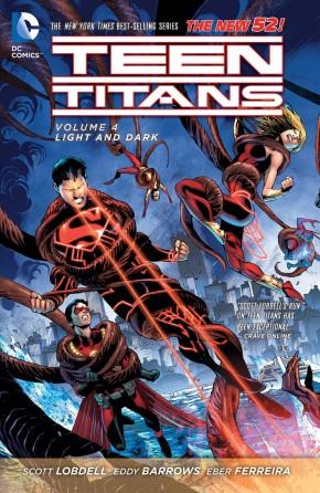 TEEN TITANS VOLUME 4 LIGHT AND DARK GRAPHIC NOVEL
