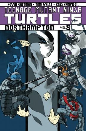 TEENAGE MUTANT NINJA TURTLES VOLUME 8 NORTHAMPTON GRAPHIC NOVEL