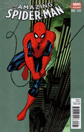 AMAZING SPIDER-MAN #3 (2014 SERIES) TIM SALE 1 IN 25 INCENTIVE