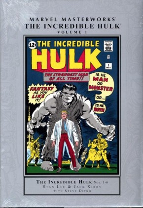 MARVEL MASTERWORKS INCREDIBLE HULK VOLUME 1 HARDCOVER (NEW PRINTING)