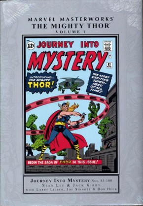 MARVEL MASTERWORKS MIGHTY THOR VOLUME 1 HARDCOVER (NEW PRINTING)