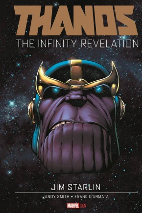THANOS INFINITY REVELATION HARDCOVER